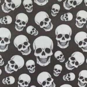 Black Skulls face mask