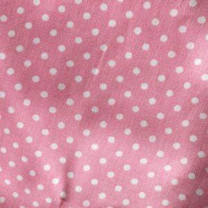 Pink Polka face mask